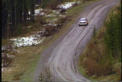 Motorsports, Rally racing, Audi Quattro, rare Stock Footage