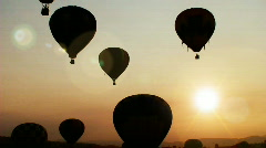 HD Hot Air Balloon Festival 02 Stock Footage