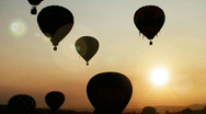 Stock Video Footage of HD Hot Air Balloon Festival 02