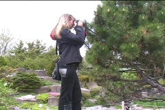 Amateur photographer Stock Footage