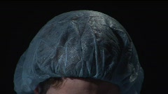 surgical cap - stock footage