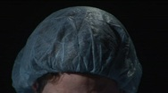 Stock Video Footage of surgical cap