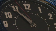 Eleventh Hour Clock Stock Footage