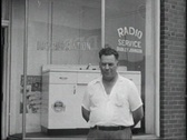 Stock Video Footage of 40s appliance store