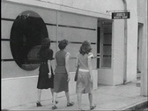Stock Video Footage of 40s beauty shop