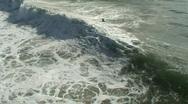 HD Beach Waves Stock Footage