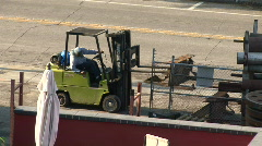 Fork Lift Stock Footage
