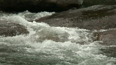Malawi: water stream of a river in rock 1a Stock Footage