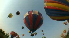 HD Hot Air Balloon Festival 06 - stock footage