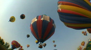 Stock Video Footage of HD Hot Air Balloon Festival 06