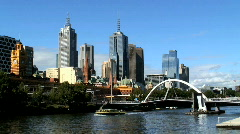 Stock Video Footage of Melbourne Victoria Australia