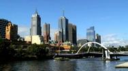 Melbourne Victoria Australia Stock Footage