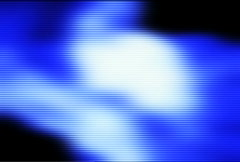 Blue background with scan lines - stock footage