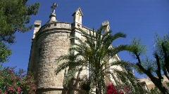 Notre Dame de Sion Chapel Stock Footage
