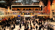 Liverpool street station London Stock Footage