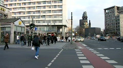 Germany Berlin rush hour traffic Stock Footage