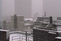 New York City Snowstorm 02 Stock Footage