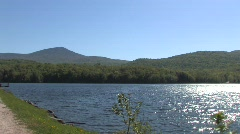 Lake and mountains 2 Stock Footage