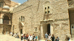 Holy Sepulchre pan 2 Stock Footage