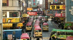 Kowloon district Hong Kong - stock footage