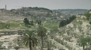 Stock Video Footage of jerusalem Gethsemane pan church