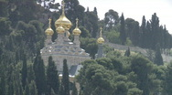 Stock Video Footage of jerusalem Gethsemane zoom church