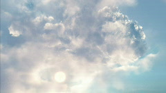 Stock Video Footage of Clouds fly troug
