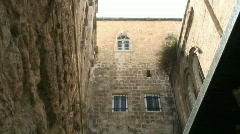 Via dolorosa 8 st tilt Stock Footage