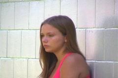 Teen Girl Crying-2 Stock Footage