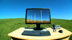 Environment office/graphics Stock Footage