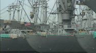 Stock Video Footage of AlamedaNaval_MSships.mov