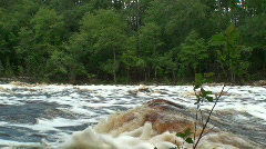 Big Shoals State Park Suwannee River Stock Footage