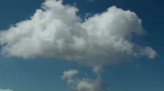 Cloud smoke signals Stock Footage