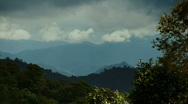 Mountains in the North of Thailand Stock Footage