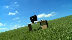 Environmental workplace Stock Footage