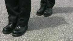 Cadet drill. Stock Footage