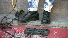 Rock and roll boots. Stock Footage