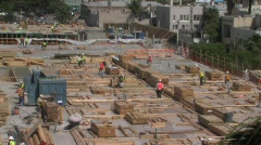 Construction Site - stock footage