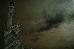 Statue of Liberty Time Lapse - stock footage