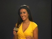 Stock Video Footage of Beautiful Young Latina with Chocolate Syrup (1)