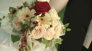 Stock Video Footage of Wedding Bouquet