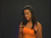 Stock Video Footage of Beautiful Latina Chocolate Taste Tester (1)