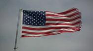 American flag. Stock Footage
