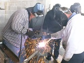 Stock Video Footage of Welding class
