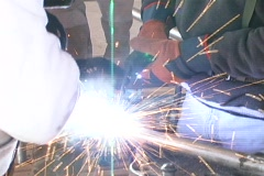 Welding Close up - stock footage