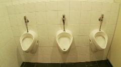 Urinal Stock Footage
