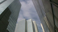 Stock Video Footage of Office buildings. Timelapse.