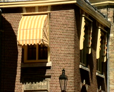Den Haag parlement buildings political centre of The Netherlands. - stock footage
