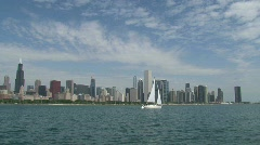 Stock Video Footage of Skyline Chicago