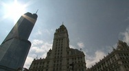 Chicago, Trump tower, timelapse,wrigley building Stock Footage